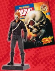 Classic Marvel Figurine Collection #022 Ghost Rider Eaglemoss Publications